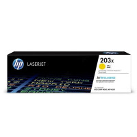 Картридж HP 203X Yellow CF542X, желтый, 2500стр,