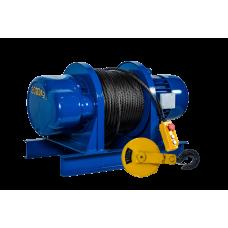 Лебедка электрическая KCD 1500/3000 кг, 100/50 м