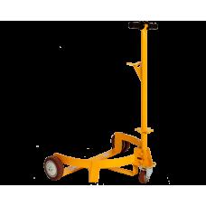 Ручная механическая тележка для подъема и перемещения бочек DC500 (г/п 500кг, вес 17кг)