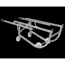 Ручная механическая тележка для подъема и перемещения бочек DF10