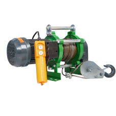 Лебедка электрическая KCD 300/600 кг, 30/15 м