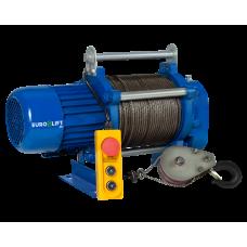 Лебедка электрическая KCD 500/1000 кг, 70/35 м