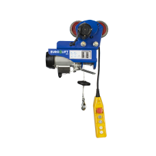 Лебедка электрическая передвижная KX 1000 г/п 500/1000 кг, в/п 18/9 м