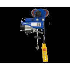 Лебедка электрическая передвижная KX 1000 г/п 500/1000 кг, в/п 12/6 м