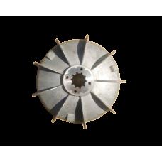 Вентилятор с тормозным кольцом для ZD1 41-4 (5т)