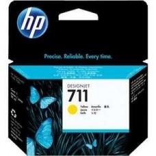 Картридж HP CZ132A №711 для HP DesignJet T120/T520 (29мл) желтый