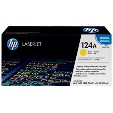 Картридж 124A для HP CLJ 1600/2600N/2605, 2К (O) жёлтый Q6002A