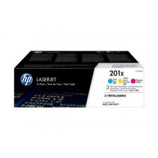 Набор картриджей 201X HP Color LaserJet Pro MFP M277/M274/M252, 2,3К (О) C/Y/M CF253XM
