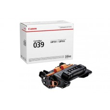 Тонер-картридж 039 BK Canon i-SENSYS LBP-351, LBP-352 11К (О) чёрный 0287C001