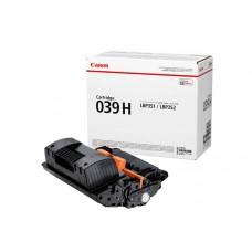 Тонер-картридж 039H BK Canon i-SENSYS LBP-351, LBP-352 25К (О) чёрный 0288C001