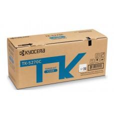 Тонер-картридж TK-5270C Kyocera P6230cdn/M6230cidn/M6630c, 6К (О) голубой 1T02TVCNL0