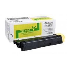 Картридж TK-580Y Kyocera FS-C5150DN, 2,8К (O) жёлтый 1T02KTANL0