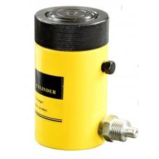Домкрат гидравлический TOR HHYG-150100LS (ДГ150П100Г), 150т с фиксирующей гайкой, шт