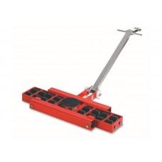 Роликовая платформа поворотная TOR X16 г/п 16тн (с ручкой), шт
