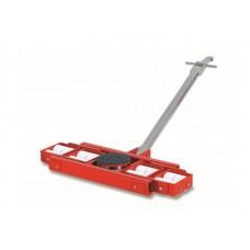 Роликовая платформа поворотная TOR X24 г/п 24тн (с ручкой), шт