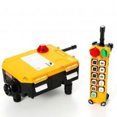 Комплект радиоуправления TOR F24-10D (380 В, 10-кноп, двухскоростной), шт