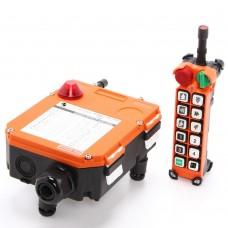 Комплект радиоуправления TOR F24-12D (380 В, 12-кноп, двухскоростной), шт