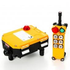 Комплект радиоуправления TOR F24-6D (380 В, 6-кноп , двухскоростной), шт