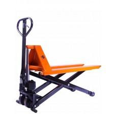 Тележка гидравлическая 1000 кг 1150 мм TOR JF с ножничным подъемом (полиуретановые колеса), шт