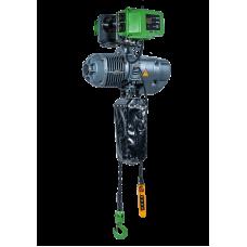 Таль цепная электрическая  2,0т  6м две цепи (ск. передв. 21м/мин, пульт 6кн.) Euro-Lift.ru